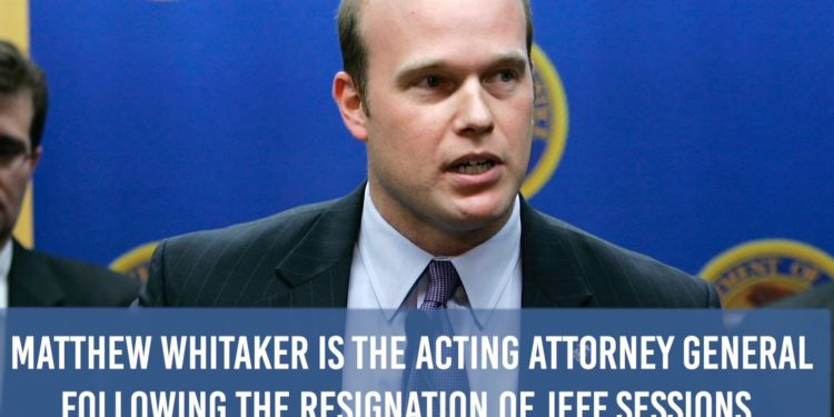Acting AG Whitaker Will Not Recuse Himself From Russia Probe & Won't Approve Democrat Subpoenas