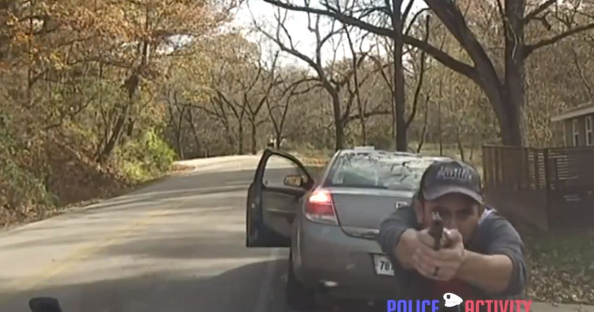 Watch: Illegal Alien Shooting At Police, Now Charged With Attempted Capital Murder
