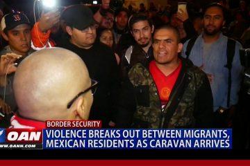 Violence Breaks Out At Tijuana Border As Migrant Caravan Arrives