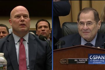 Acting AG Matt Whitaker Sends Room Into Laughter When He Tells Jerry Nadler His Five Minutes Questioning Time Is Up