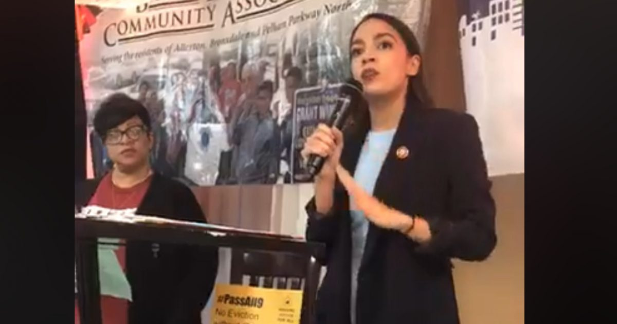 AOC: Guaranteed Housing Comes Before A Person's 'Privilege To Earn A Profit'