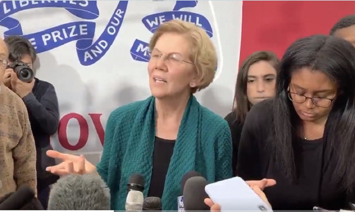 Warren: 'How Could The American People Want Someone Who Lies To Them?'
