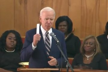Biden Ties Trump To The KKK During Speech To Black Congregation