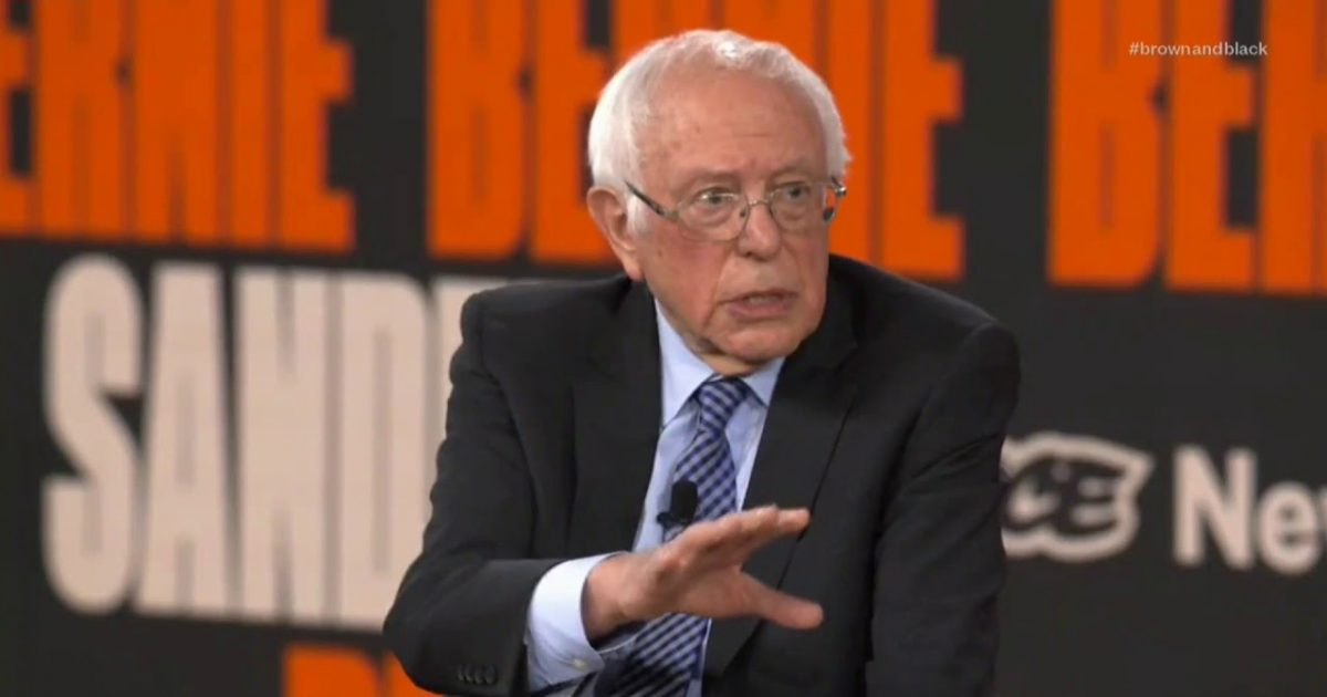 "Sanders Says He Will ""Look At"" Tearing Down Existing Border Walls"