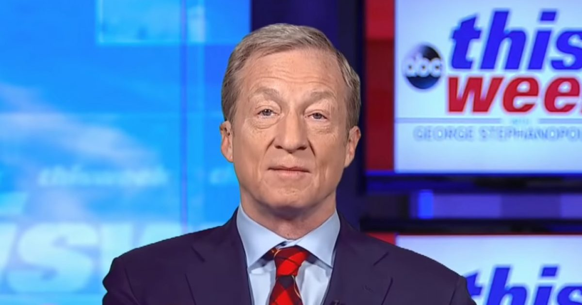 """ABC's Raddatz Shuts Down Steyer On Trump's Strong Economy: 70% Rate """"Economy As Excellent Or Good"""""""