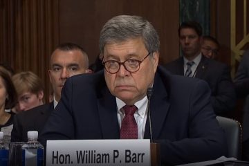 Obama's AG Eric Holder Encourages DOJ Officials Snitch On Bill Barr