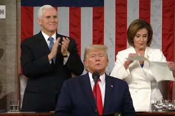 Democrats Demand Twitter, Facebook Take Down Edited Video Of Pelosi Ripping Up State Of The Union Speech Posted By Trump