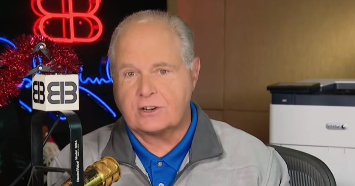 Breaking: Rush Limbaugh Has Advanced Lung Cancer