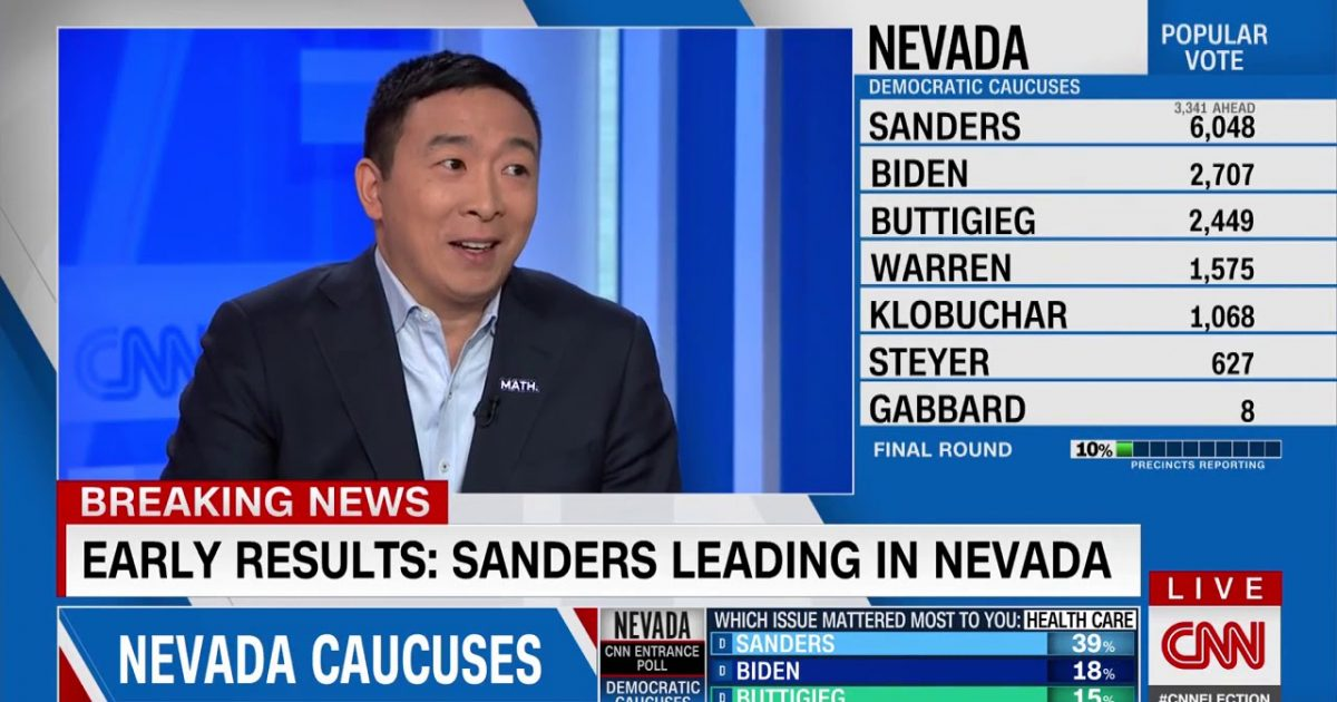 Andrew Yang: The Democrat Party Is Not The Party Of Working Class Americans
