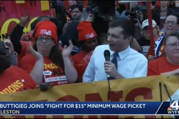"Mayor Pete Crashed A ""Fight For $15"" Protest Gets Booed And Harassed By Racial SJWs As He Flees (Video)"