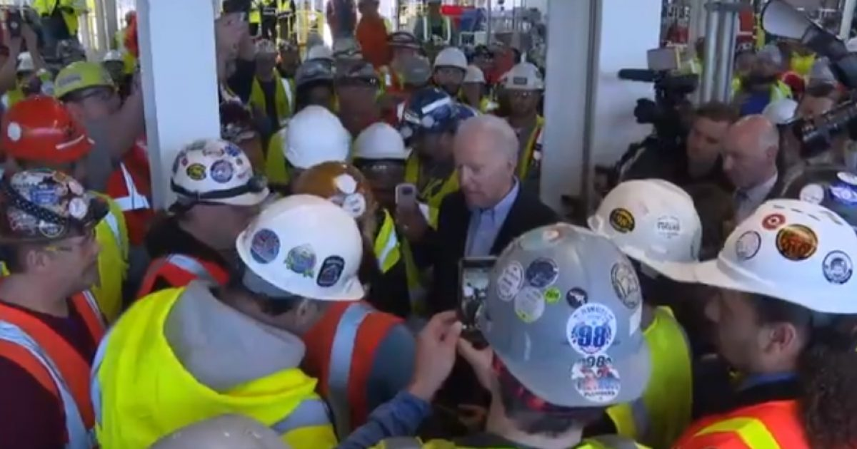 Biden Flips Out & Gets In His Face Of Autoworker; Yells 'You're Full Of Shit;' Threatens To Slap The Guy