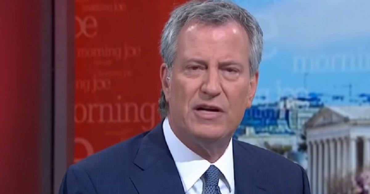 "NYC Mayor De Blasio: Wuhan Virus Is ""A Case For Nationalization Of Crucial Factories And Industries'"