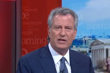 """NYC Mayor De Blasio: Wuhan Virus Is """"A Case For Nationalization Of Crucial Factories And Industries'"""