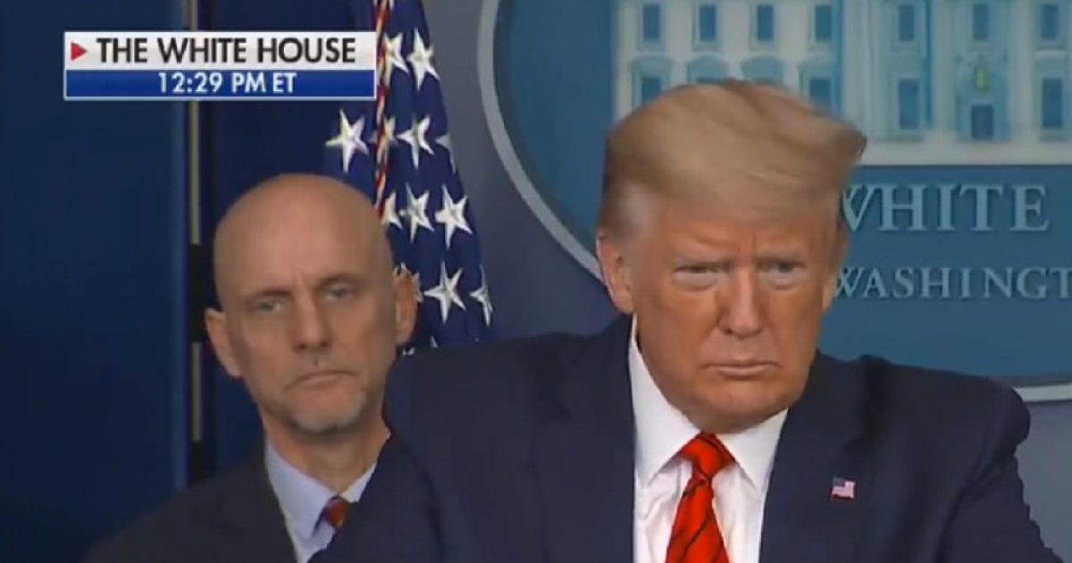 "Trump To White House Press: ""You Are Actually Sitting Too Close… You Should Leave Immediately"""