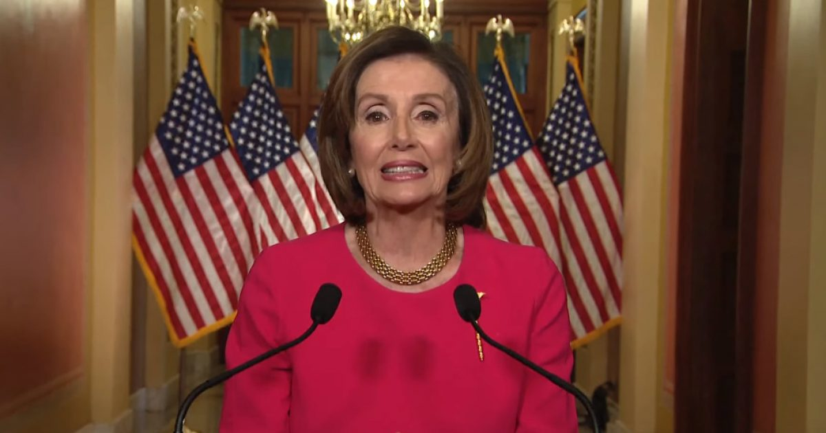 Nancy Pelosi Uses Coronavirus Presser To Demand Trump Stop Attacking ObamaCare