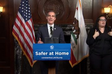 """Los Angeles Mayor Threatens """"Non-Essential"""" Businesses He'll Shut Off Water, Power If They Do Not Obey The City's """"Stay At Home"""" Order"""