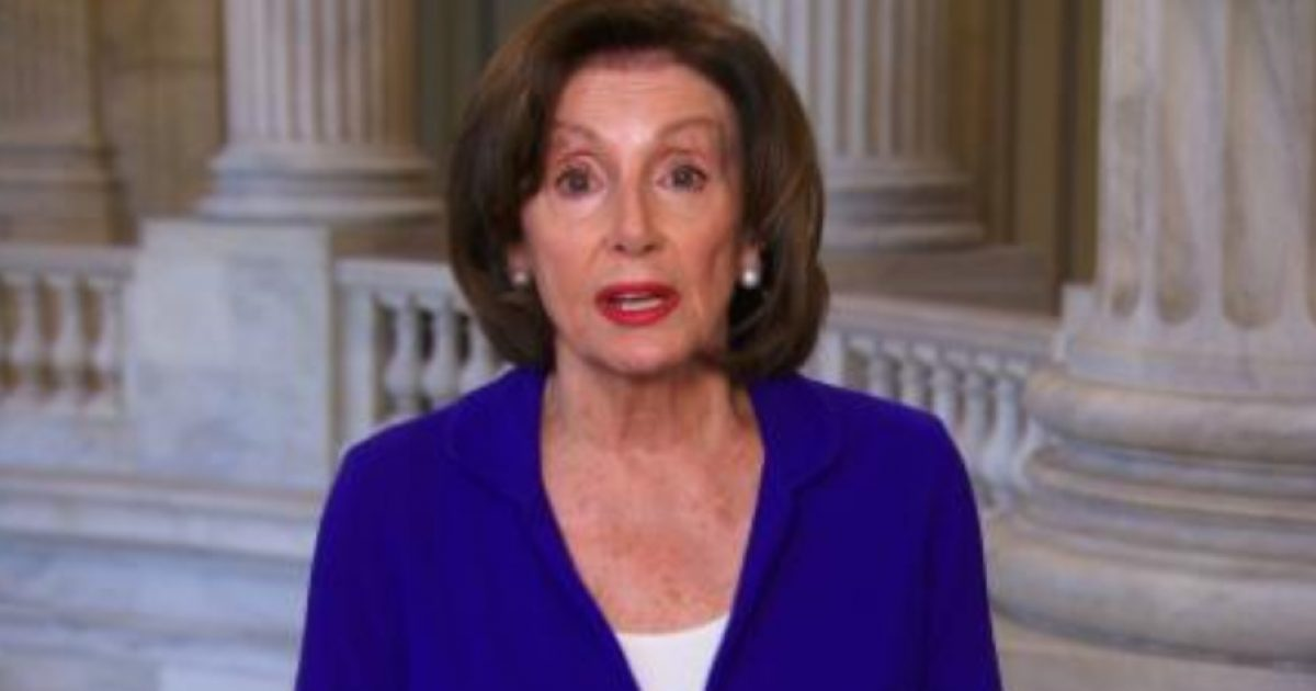 Pelosi Blames Trump On Virus Response... Says As He 'Fiddles, People Are Dying'