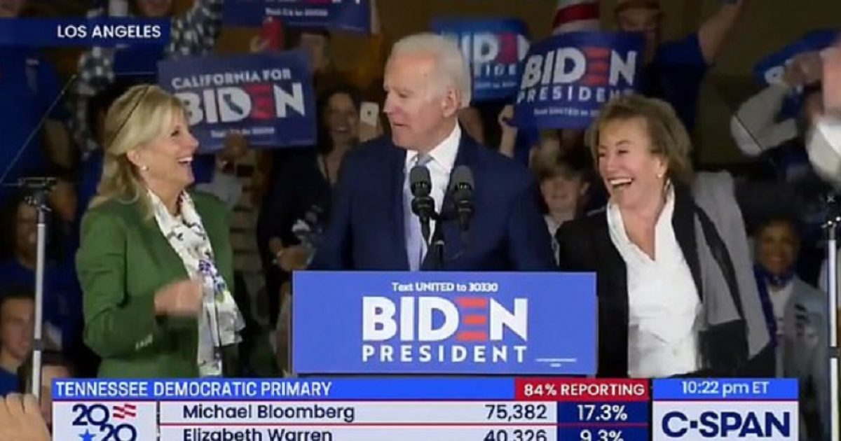 Biden Introduces His Wife As His Sister!