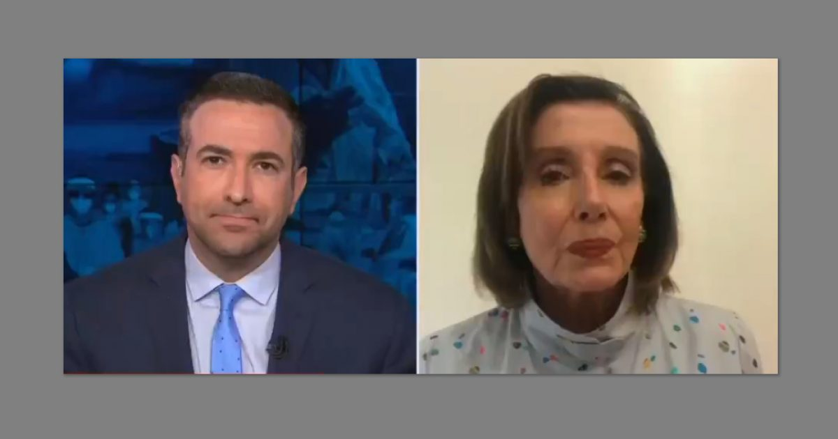 Nancy Pelosi: U.S. Coronavirus Crisis 'Largely Of' Trump's 'Making', Responsible For Deaths