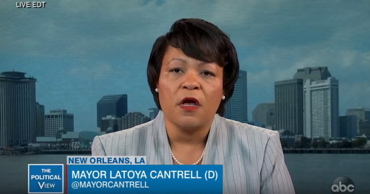 New Orleans Democrat Mayor Again Blames Trump For Her Decision Not To Cancel Mardi Gras