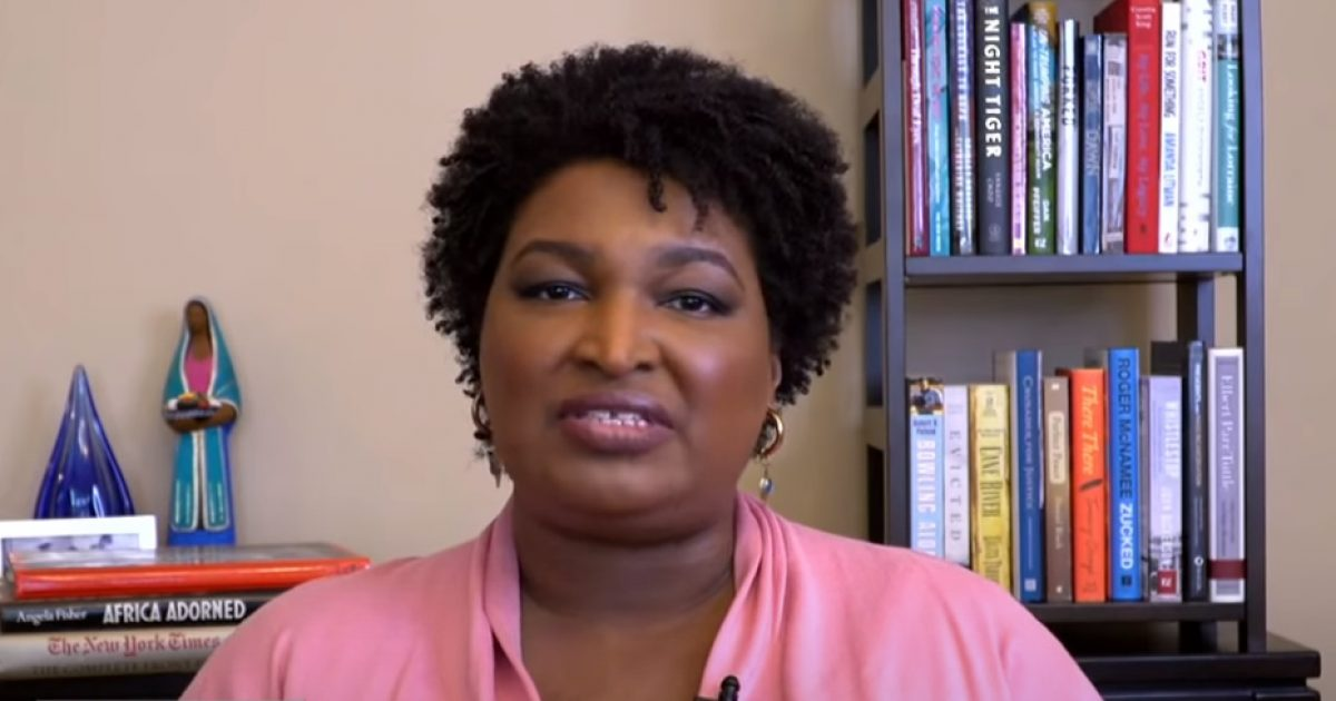 Stacey Abrams: Trump Afraid Of Vote By Mail Because He 'Is Illegitimate And Should Not Hold Office'