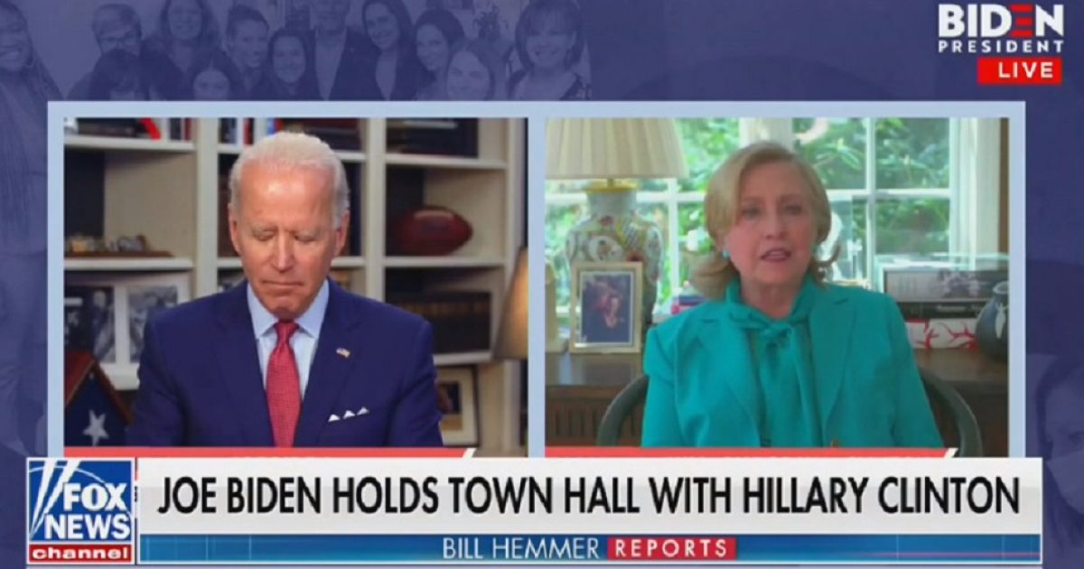 Sleepy Joe Appears To Doze Off During Hillary's Endorsement
