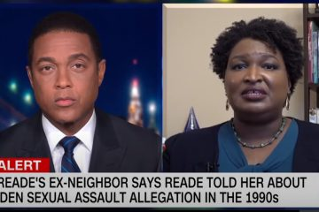 Stacey Abrams In 2018 'I Believe Women' Now Says Alleged Biden Assault 'Did Not Happen'