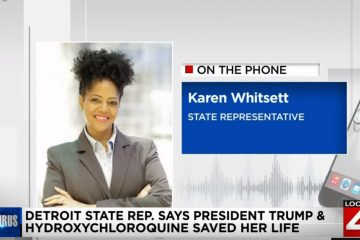 Detroit: Watch Dem State Rep Say Hydroxychloroquine, Trump Helped Save Her Life