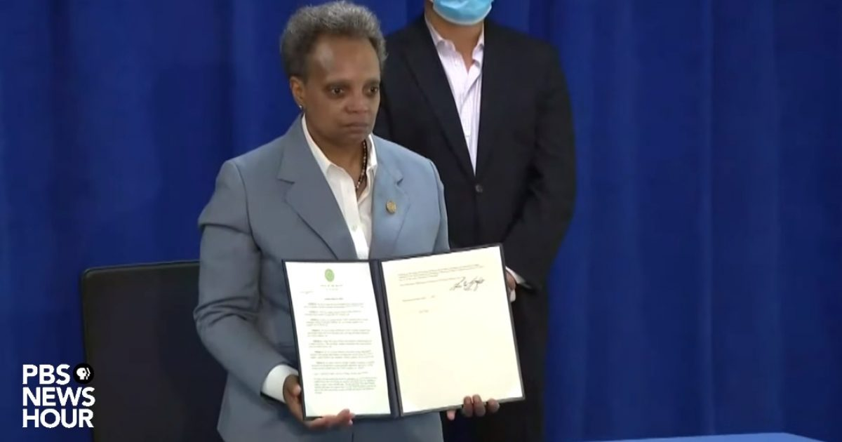 "Chicago Mayor Signs Executive Order to Give Illegals Free Coronavirus Relief Funds: ""Proud Sanctuary City"""