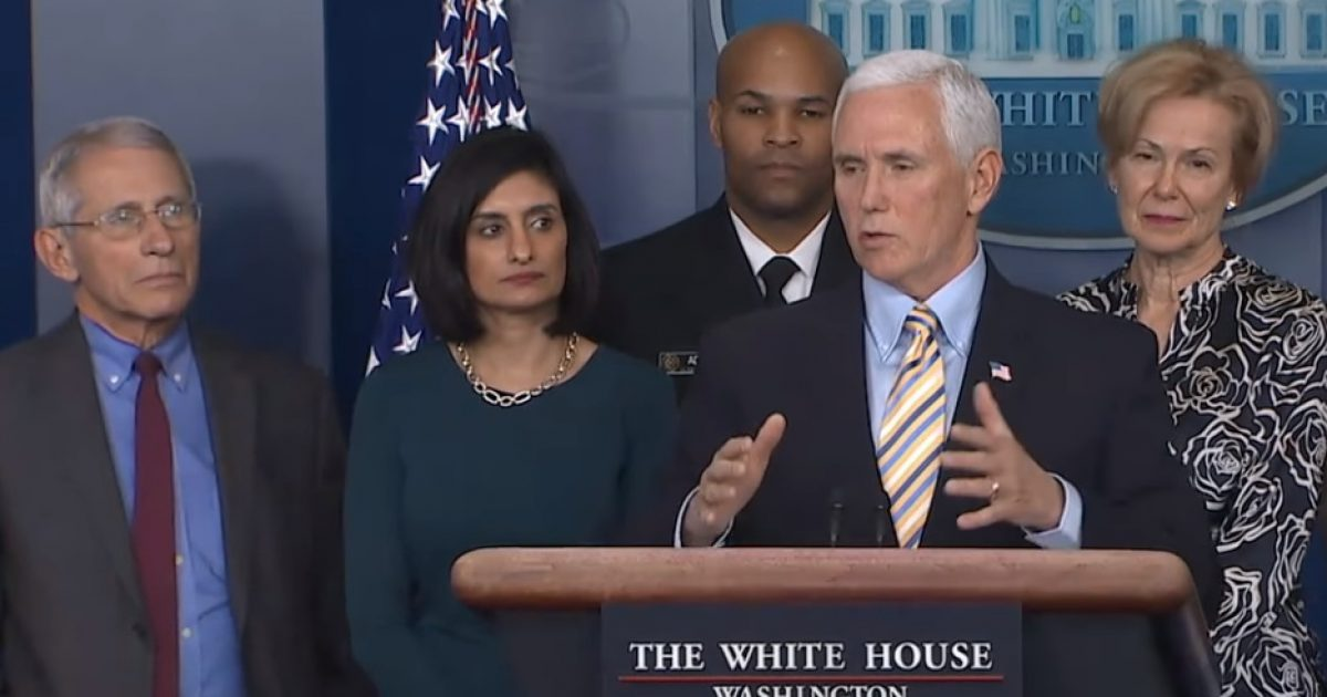 Mike Pence Bans Task Force From CNN