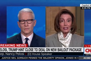 Nancy Pelosi Actually Admits She Held Up The Funding For Small Businesses, PPP