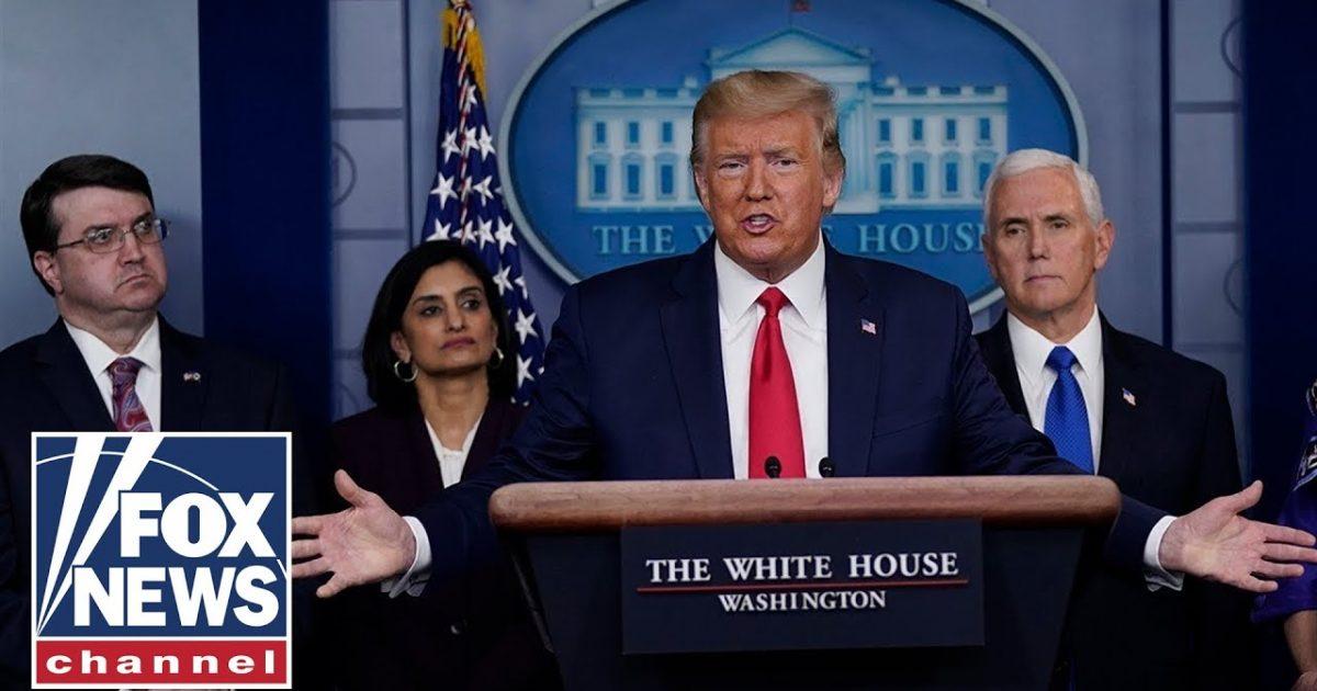 White House Warns Against Leaving Home As Coronavirus Hits Peak