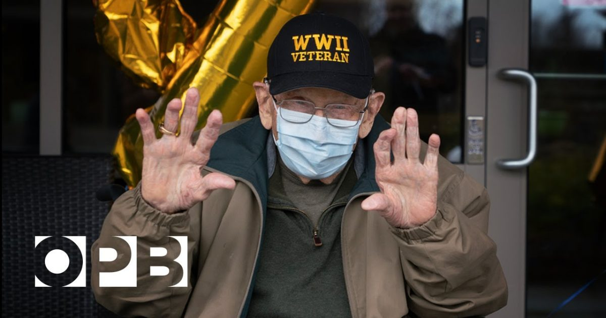 WWII Veteran Recovers From Coronavirus Just In Time For 104th Birthday