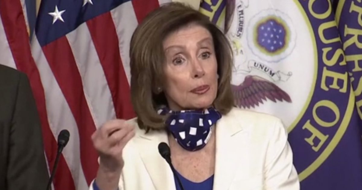 Nancy Pelosi: 'I Myself Cannot Understand' Why Illegal Immigrants Can't Receive COVID Cash