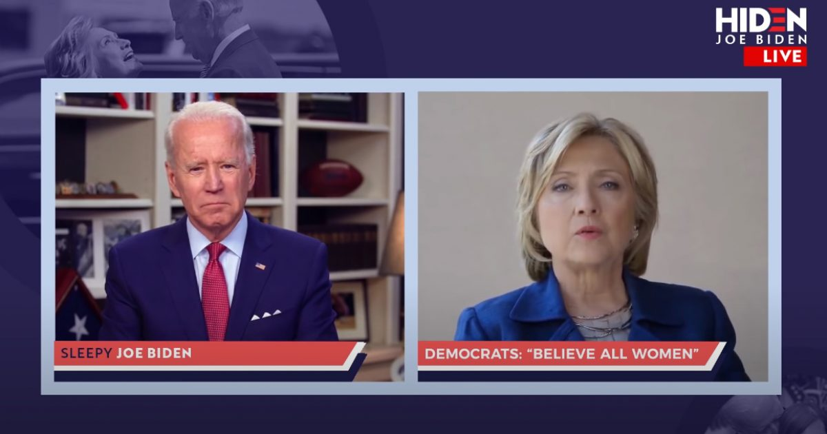 Watch Trump Ad Level Biden Over Reade Allegations... With Guest Star Hilary