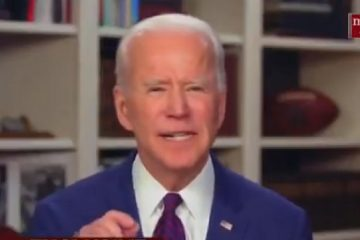 Biden Claims '600,000 Dead' From Virus Accuses