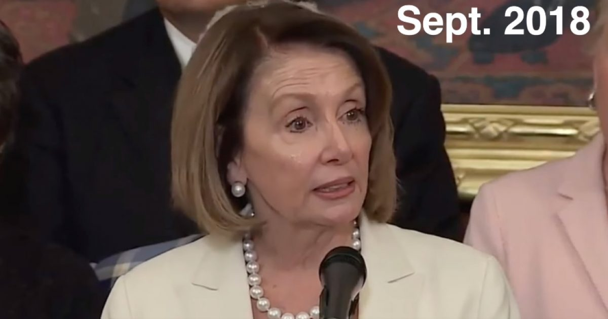 Watch How Differently Pelosi Treated Sexual Assault Allegations Against Biden Compared To Kavanaugh