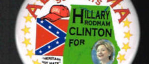 FIGURES ➠ Barack Obama Had His Own 2012 Confederate Flag Pin!