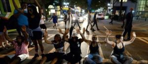 Protesters Block Streets In Charlotte, Scream At Police