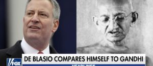 Delusional Democrat Compares Himself To Gandhi (Video)