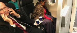 Oops! Woman Accused Of Being Racist By Sheila Jackson Lee In Plane Spat Is A HUMAN RIGHTS Activist
