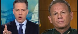 Jake Tapper Destroys Broward Co. Sheriff (Video)