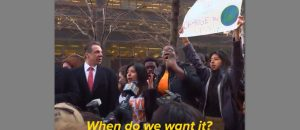 Surrounded By Armed Guards NY Gov Cuomo Takes Part In Protest (Video)