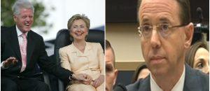 Limbaugh: Rod Rosenstein Exonerated Hillary From Whitewater Scandal (AUDIO)