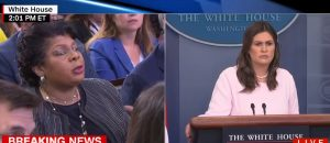 Sarah Sanders Scolds CNN Reporter April Ryan... Liberals Flip Out!