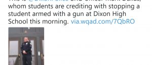 Armed School Resource Officer Mark Dallas Shoots Student Who Open Fired At Dixon High School