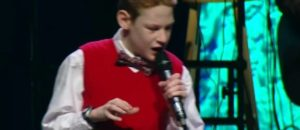 "Watch Blind, Autistic Boy Bring Down The House Singing ""I Can Only Imagine"""